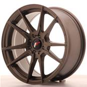 "Jante JAPAN RACING JR21 17"" x 8"" 4x100 4x108 ET 25 Bronze"