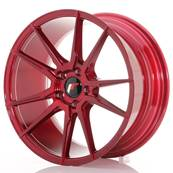 "Jante JAPAN RACING JR21 18"" x 8,5"" 5x112 ET 40 Red"