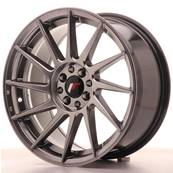 "Jante JAPAN RACING JR22 17"" x 8"" 4x108 4x100 ET 25 Hiper Black"