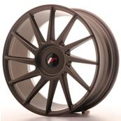 "Jante JAPAN RACING JR22 18"" x 7,5"" Multi Perçage ET 35-42 Bronze"