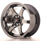 "Jante JAPAN RACING JR3 15"" x 8"" 4x108 4x100 ET 25 Chrome"