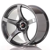 "Jante JAPAN RACING JR32 18"" x 10,5"" 5x120 ET 22 Hiper Black"