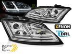 Paire de feux phares Audi TT 8J 2006-2010 Daylight led chrome Xenon