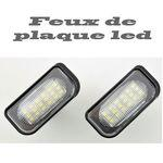 Feux de plaque led