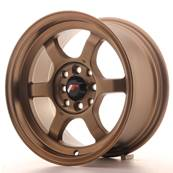 "Jante JAPAN RACING JR12 15"" x 7,5"" 4x100 4x108 ET 26 Bronze"