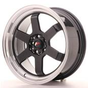 "Jante JAPAN RACING JR12 17"" x 8"" 5x100 5x114,3 ET 33 Black"