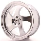 "Jante JAPAN RACING JR15 19"" x 8,5"" Multi Perçage ET 35-40 Silver Machined Face"