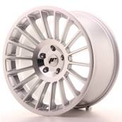 "Jante JAPAN RACING JR16 19"" x 10"" Multi Perçage ET 25 Machined Face Silver"