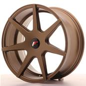 "Jante JAPAN RACING JR20 18"" x 8,5"" Multi Perçage ET 25-40 Bronze"