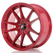 "Jante JAPAN RACING JR21 17"" x 8"" 4x114,3 4x100 ET 35 Red"