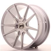 "Jante JAPAN RACING JR21 18"" x 8,5"" Multi Perçage ET 20-30 Machined Face Silver"