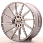 "Jante JAPAN RACING JR22 18"" x 7,5"" 5x112 5x114,3 ET 40 Machined Face Silver"