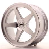 "Jante JAPAN RACING JR24 18"" x 8,5"" Multi Perçage ET 25-32 Machined Face Silver"