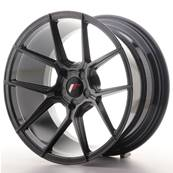"Jante JAPAN RACING JR30 18"" x 9,5"" Multi Perçage ET 20-40 Hiper Black"