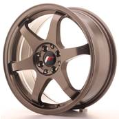 "Jante JAPAN RACING JR3 17"" x 7"" 4x100 4x114,3 ET 40 Bronze"