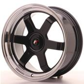 "Jante JAPAN RACING JR12 17"" x 8"" Multi Perçage ET 35 Black"