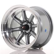 "Jante JAPAN RACING JR19 14"" x 9"" 4x100 4x114,3 ET -25 Gun metal"