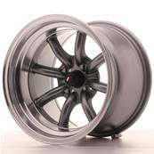 "Jante JAPAN RACING JR19 15"" x 10,5"" 4x100 ET -32 Gun metal"
