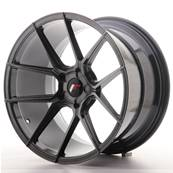 "Jante JAPAN RACING JR30 19"" x 11"" Multi Perçage ET 15-40 Hiper Black"