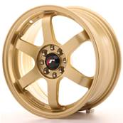 "Jante JAPAN RACING JR3 16"" x 7"" 4x108 4x100 ET 25 Gold"