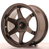 "Jante JAPAN RACING JR3 16"" x 8"" Multi Perçage ET 25 Bronze"