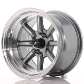 "Jante JAPAN RACING JR19 14"" x 9"" 4x100 ET -25 Gun metal"