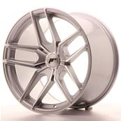 "Jante JAPAN RACING JR25 19"" x 11"" Multi Perçage ET 40 Machined Face Silver"