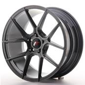 "Jante JAPAN RACING JR30 18"" x 8,5"" 5x112 ET 40 Hiper Black"