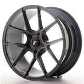 "Jante JAPAN RACING JR30 18"" x 8,5"" Multi Perçage ET 20-40 Hiper Black"