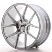 "Jante JAPAN RACING JR30 18"" x 8,5"" Multi Perçage ET 40 Silver Machined Face"