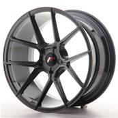 "Jante JAPAN RACING JR30 19"" x 9,5"" Multi Perçage ET 35-40 Hiper Black"