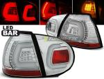 Paire de feux arriere VW Golf 5 03-09 chrome led Bar