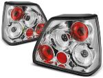 Paire de feux arriere VW Golf 2 83-91 chrome