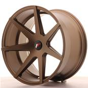 "Jante JAPAN RACING JR20 20"" x 11"" Multi Perçage ET 20-30 Bronze"