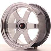 "Jante JAPAN RACING JR12 17"" x 8""Multi Perçage ET 35 Silver"