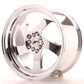 "Jante JAPAN RACING JR15 18"" x 9,5"" 5x120 5x100 ET 35 Chrome"