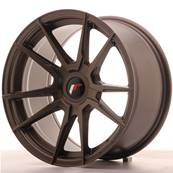 "Jante JAPAN RACING JR21 17"" x 9"" Multi Perçage ET 25-35 Bronze"