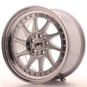 "Jante JAPAN RACING JR26 17"" x 9"" 5x114,3 5x120 ET 25 Silver Machined Face"