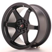 "Jante JAPAN RACING JR3 16"" x 8"" 4x100 4x108 ET 25 Black"