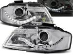 Paire de feux phares Audi A3 8P 03-08 Daylight led chrome
