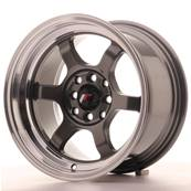 "Jante JAPAN RACING JR12 15"" x 8,5"" 4x114,3 4x100 ET 13 Gun metal"