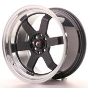"Jante JAPAN RACING JR12 17"" x 9"" 5x112 5x120 ET 25 Black"