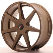"Jante JAPAN RACING JR20 20"" x 8,5"" Multi Perçage ET 20-40 Bronze"