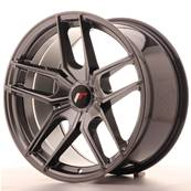 "Jante JAPAN RACING JR25 18"" x 9,5"" Multi Perçage ET 20-40 Hiper Black"