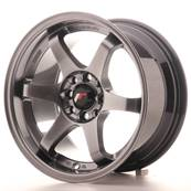 "Jante JAPAN RACING JR3 15"" x 8"" 4x108 4x100 ET 25 Hiper Black"