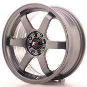 "Jante JAPAN RACING JR3 16"" x 7"" 4x100 4x108 ET 25 Gun metal"