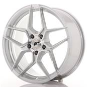 "Jante JAPAN RACING JR34 19"" x 8,5"" 5x112 ET 40 Silver Machined Face"