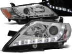 Paire de feux phares Toyota Camry 6 XV40 06-09 Daylight LED chrome
