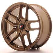 "Jante JAPAN RACING JR25 18"" x 8,5"" Multi Perçage ET 20-40 Bronze"