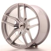 "Jante JAPAN RACING JR25 19"" x 9,5"" Multi Perçage ET 20-40 Machined Face Silver"